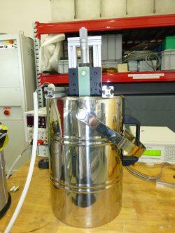 3-axis Hall sensor in liquid nitrogen